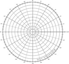 Lucrative image pertaining to printable polar graph paper