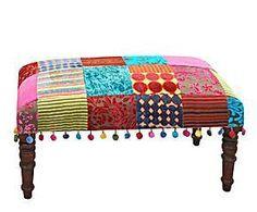 Banqueta patchwork II – Multicolor