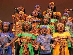 INSPIRING: The African Children's Choir will be perform two concerts at #Bellingen High School next month as part of their Australian tour > Both shows 6 June