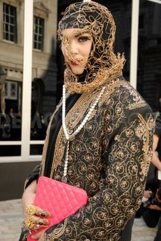 Fashion enthusiasts at London Fashion Week. September 14th, 2012