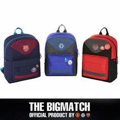Manchester United Chelsea FC Barcelona Official backpack sport EPL bag BP5S07 #Eon #Backpack