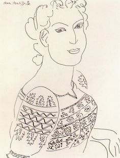 The Romanian Blouse by Henri Matisse, 1942