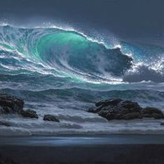 Breaking Surge – Carol Sutton – join in the world of pin No Wave, Water Waves, Sea Waves, Ocean Photography, Landscape Photography, Photography Tips, Portrait Photography, Wedding Photography, Ocean Scenes