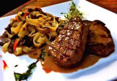 Filé com molho de foie gras, prato especial para o Dia dos Pais no restaurante Brado (Foto: Divulgação)