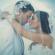 """Falling in love was the easy part; planning a wedding - yikes!"" Enjoy this beautiful inspiration via @galialahav #wedding #weddingplanning Visit WeddingForward.com for more wedding planning tips."