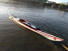 Lastest creation from big pond kayaks 2018 updated Mannta www.bigpondkayaks.com @bigpondkayaks Kayak Storage Rack, Diy Storage, Outdoor Storage, Canoes, Kayaks, Wood Boats, Canoe And Kayak, Isle Of Man, Frames On Wall
