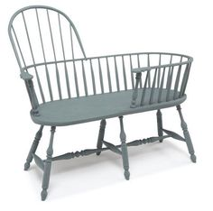 Early style Windsor inspiration * https://www.etsy.com/listing/68191877/windsor-nanny-bench