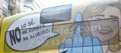 La polémica imagen de la infanta Cristina que viaja en los autobuses de Barcelona - Noticias de Casas Reales