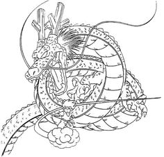 dragon and son goku coloring pages for kids printable dragons coloring pages for kids