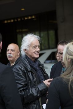 Jimmy Page in Boston, May 10, 2014.