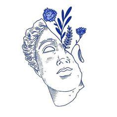 History Illustration US presidents - - Art Et Illustration, Illustrations, Art Inspo, Tattoo Drawings, Art Drawings, Blue Drawings, Tattoo Art, Desenho Tattoo, Art Graphique