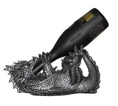 Medieval-Dragon-Wine-Bottle-Holder-Game-of-Thrones-Halloween-Home-Decor Baby Dragon!!! Dawwww!!!! <3