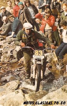 Mike Andrews Ossa 1972 Six days of Scotland