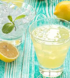 Bring some citrus zing to your happy hour with these tasty cocktails made with limoncello liqueur. Best Vodka Cocktails, Limoncello Cocktails, Refreshing Cocktails, Easy Cocktails, Cocktail Recipes, Martini Recipes, Vodka Drinks, Summer Drinks, Fun Drinks