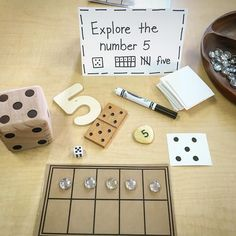 This allows students to explore numbers in a number of ways which allows them to engage with materials and form more concrete understandings of the numbers and math concepts Numbers Preschool, Teaching Kindergarten, Math Activities, Preschool Activities, Reggio Emilia Classroom, Reggio Inspired Classrooms, Reggio Emilia Preschool, Maths Eyfs, Eyfs Classroom