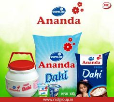 Gopaljee Ananda is a trusted name in the field of dairy products. We offer the fresh and best quality dairy products in Delhi. To know more, visit our website http://rsdgroup.in/products.php