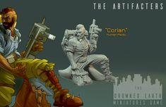 Corian, Artefacter Medic - The Drowned Earth Combat Medic, Dangerous Games, Near Future, Corian, Bedside, A Team, Pools, Sage, Smoking