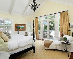 Master bedroom retreat - curling up with a good book and view...