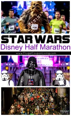 Disney Star Wars Half Marathon - For all those Walt Disney World Resort fans, get ready for The Dark Side of Force! Half Marathon Race.