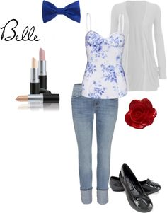 """Belle"" by veronica-rice on Polyvore"