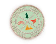 PRE ORDER National Parks Sunrise Patch by ElloThere on Etsy