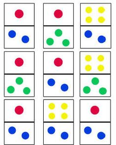Dominoes Game for Toddlers — Toddler Activities, Games, Crafts Kindergarten Math Activities, Preschool Science, Games For Toddlers, Toddler Activities, Number Recognition Activities, Math Magic, Toddler Crafts, Busy Bags, Numeracy