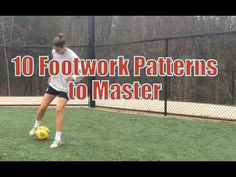 10 Soccer Footwork Patterns To Master | YFutbol - YouTube