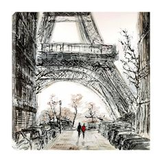 Paris in Fall by Paul Kenton