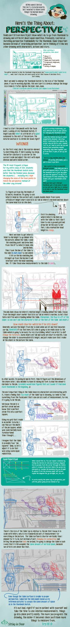 05 Here's the Thing About 1pt Perspective by betsyillustration.deviantart.com on @DeviantArt