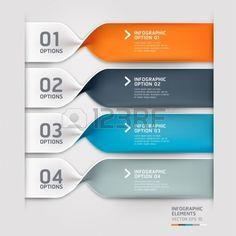 Moderne spirale infographie options de Vector illustration banni re peut tre utilis pour la mise en  Banque d'images