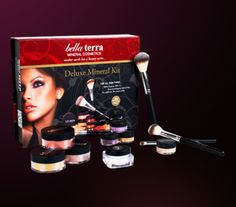 Win a Bella Terra Mineral Cosmetics Deluxe Mineral Kit!  Contest Ends April 25th 11:59PM EST