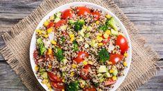 Πώς να φάω την κινόα; 4 πανεύκολες και υγιεινές συνταγές...   Life Ειδήσεις Foods With Iron, Foods High In Iron, Iron Rich Foods, Recipes High In Iron, High Iron, Healthy High Protein Meals, High Protein Recipes, Protein Foods, Healthy Foods
