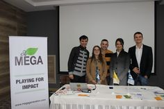 After the launch of the MEGA Impact 2015 Championship in Chisinau, Moldova. United Nations Development Program, Business Events, Moldova, Four Square, Innovation, Learning, Study, Teaching, Studying