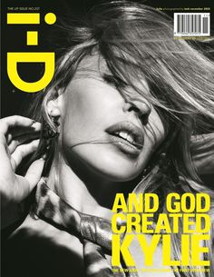 Kylie Minogue, November 2003 | 18 Eye-Popping Front Covers From The i-D Magazine Archives
