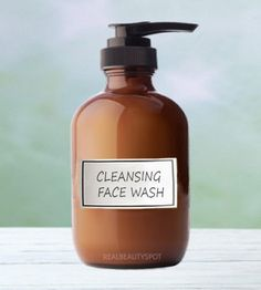DIY foaming face wash for all skin type... you will need      Coconut oil- 1/2 tsp     Castile soap- 1/3 cup     Filtered or distilled water- 2/3 cup     Lavender essential oil- 10-15 drops and a dispenser bottle