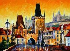 Image result for paintings of cities