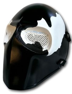 Army of Two Mask Paintball BB Gun Airsoft Protective Gear Venom Cosplay