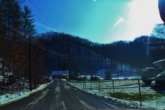 Somewhere in Kentucky on an adventure