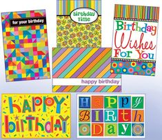 12 different designs of birthday general Wholesale Greeting Cards, Thank You Greeting Cards, Christmas Greeting Cards, Birthday Greeting Cards, Christmas Greetings, Birthday Greetings, Birthday Wishes, Hapoy Birthday, It's Your Birthday