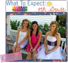 """""""What To Expect: 8th Grade ♥"""" by the-tipping-darlings on Polyvore"""