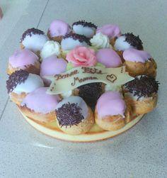 Gâteaux aux choux vanille, grand-marnier
