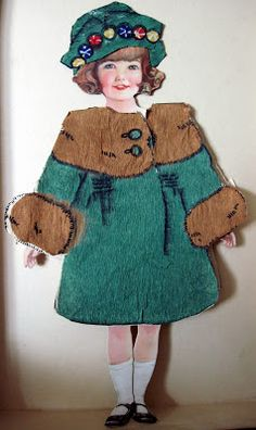 Tracy's Toys (and Some Other Stuff): Antique Paper Dolls
