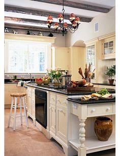 end of kitchen island ideas | kitchen design idea home and garden design ideas