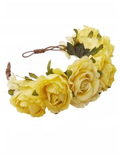 Rock 'N Rose Pixie Lott MILLIE Oversized Floral Crown Headband