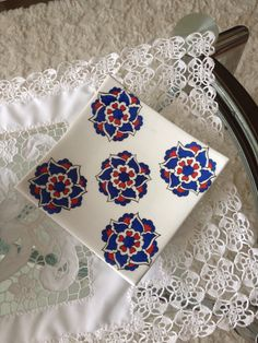 2013 Pottery Painting Designs, Paint Designs, Islamic Patterns, Blue Pottery, Kaftan, Lotus, Stencils, Diy And Crafts, Projects To Try