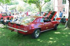 my dream car!!!! 69 Chevy Camero SS;; except i want white stripes