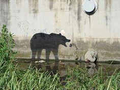 Top 44 des oeuvres murales à retenir de Banksy