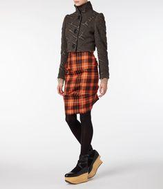Carbon Argyll Jacket | Vivienne Westwood Anglomania