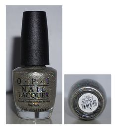 OPI Is this Star Taken? Silver with Holographic Bar Glitter