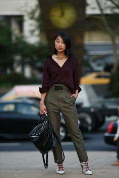 ugh, love her style. #shinebythree